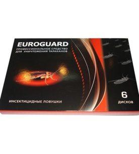 Ловушка EUROGARD От тараканов 6 шт оптом