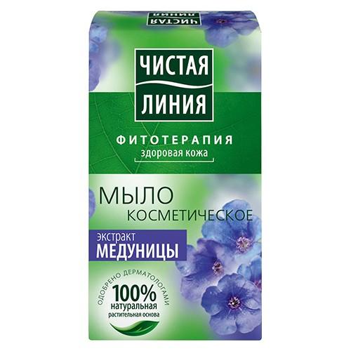 Мыло Чистая линия Экстракт медуницы 80 г оптом