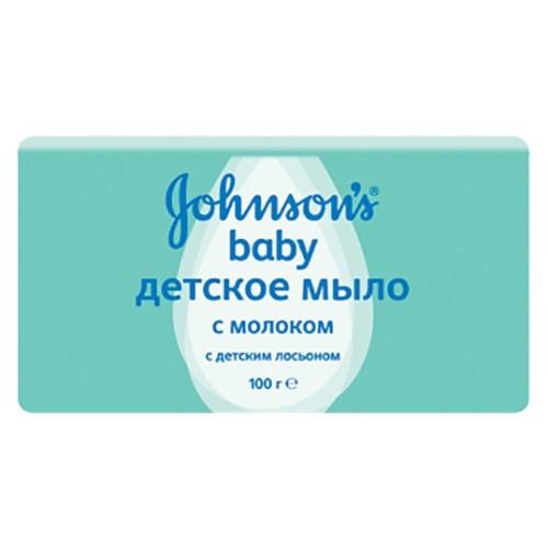 Мыло детское Johnson's baby С молоком 100 г оптом