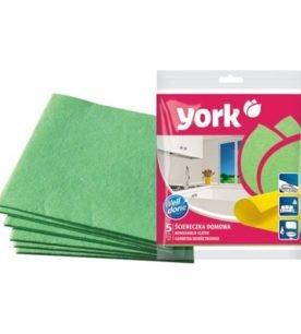 Салфетка для уборки York Домашняя 3 шт оптом
