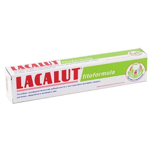 Зубная паста Lacalut Фитоформула 75 мл оптом