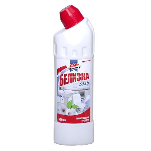 Чистящее средство Сан-Мастер Белизна гель 500 мл оптом
