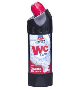 Чистящее средство для туалета Сан-Мастер WC гель 500 мл оптом