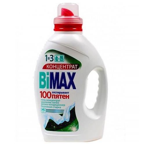 Гель для стирки Bimax 100 пятен 1