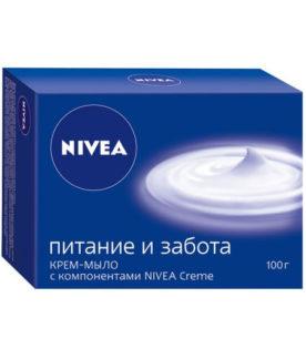 Мыло NIVEA Питание и забота 100 г оптом