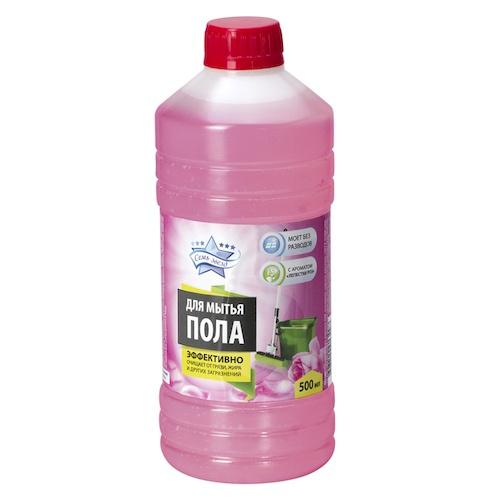 Средство для мытья пола Семь Звёзд Лепестки роз 500 мл оптом
