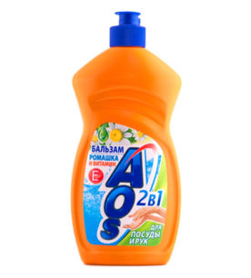 Средство для мытья посуды AOS Бальзам