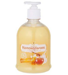Жидкое крем-мыло Колокольчик Молоко - мед 500 мл оптом