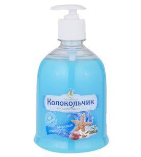 Жидкое крем-мыло Колокольчик Морская свежесть 500 мл оптом