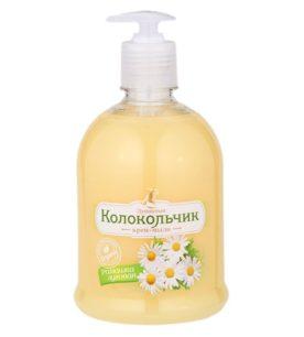 Жидкое крем-мыло Колокольчик Ромашка луговая 500 мл оптом