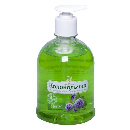 Жидкое мыло Колокольчик Мята 500 мл оптом
