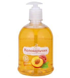 Жидкое мыло Колокольчик Персик 500 мл оптом