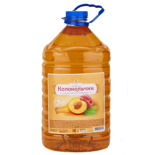 Жидкое мыло Колокольчик Персик