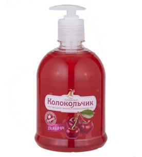 Жидкое мыло Колокольчик Вишня 500 мл оптом