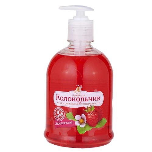 Жидкое мыло Колокольчик Земляника 500 мл оптом