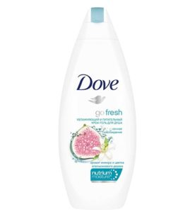 Гель для душа Dove Go fresh