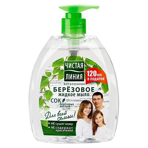 Жидкое мыло Чистая линия Берёзовое