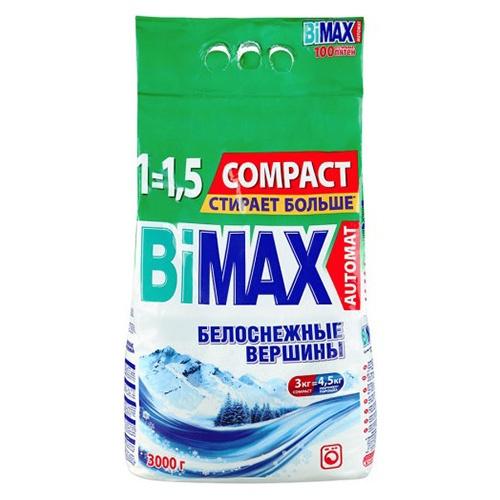 Стиральный порошок BiMax Белоснежные вершины 3 кг оптом