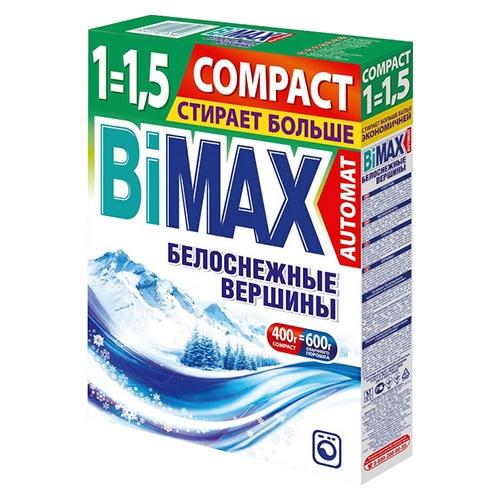 Стиральный порошок BiMax Белоснежные вершины 400 г оптом