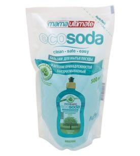 Бальзам для мытья посуды Ecosoda Быстрорастворимый
