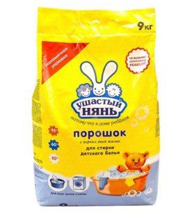Детский стиральный порошок Ушастый НЯНЬ Для всех типов стирки 9 кг оптом