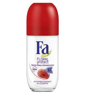 Дезодорант роликовый Fa Floral protect