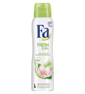 Дезодорант спрей Fa Fresh&Dry