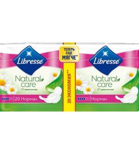 Ежедневные прокладки Libresse Natural care