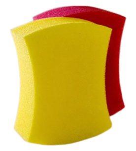 Губка для тела Кайфушка Банная в вакуумной упаковке 1 шт оптом
