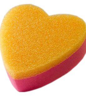 Губка для тела Мочало любви начало Банная в вакуумной упаковке 1 шт оптом