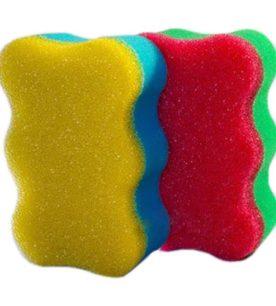 Губка для тела Злючка Банная в вакуумной упаковке