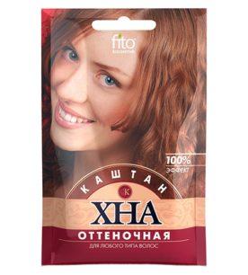 Хна для волос fitoкосметик Оттеночная