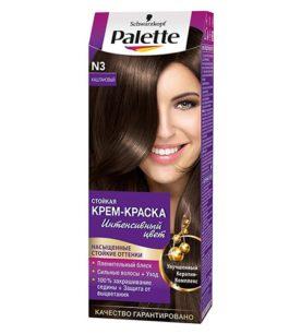 Краска для волос Palette Каштановый