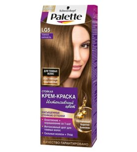 Краска для волос Palette Темная карамель