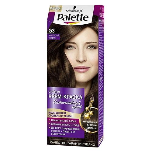 Краска для волос Palette Золотистый трюфель