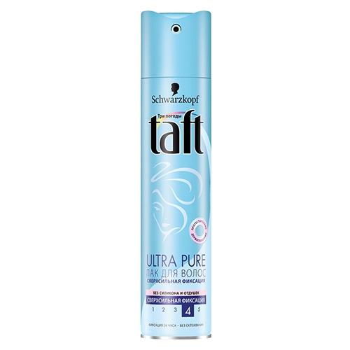 Лак для волос Taft Ultra Pure