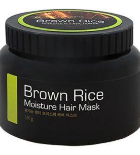 Маска для волос Brown Rice Moisture hair mask 330 мл оптом