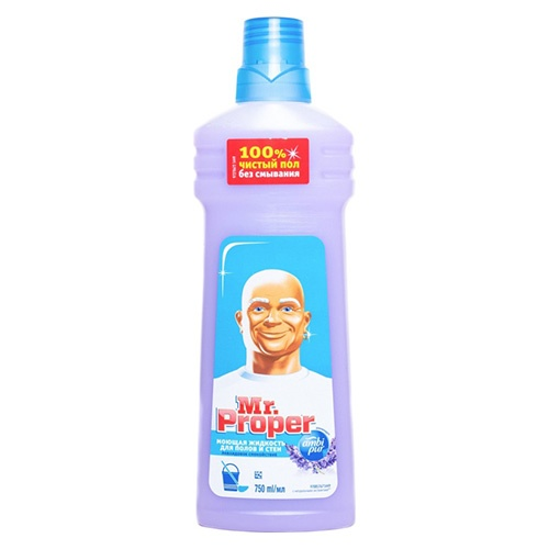 Моющее средство Mr.Proper Лавандовое спокойствие 750 мл оптом