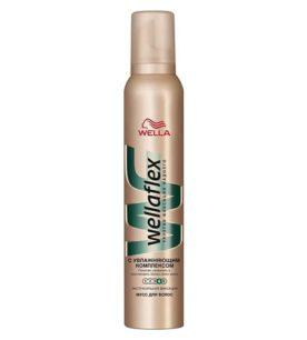 Мусс для волос Wellaflex С увлажняющим комплексом