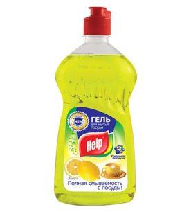 Средство для мытья посуды Help Лимон