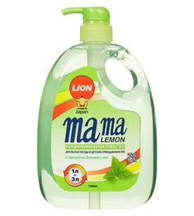 Средство для мытья посуды MAMA LEMON Green Tea 1 л оптом
