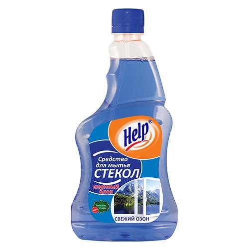 Средство для мытья стекол Help Свежий озон