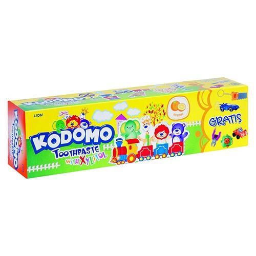 Зубная паста Kodomo Orange + игрушка 45 г оптом