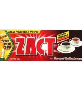 Зубная паста Zact Tea and Coffee Lovers 90 г оптом