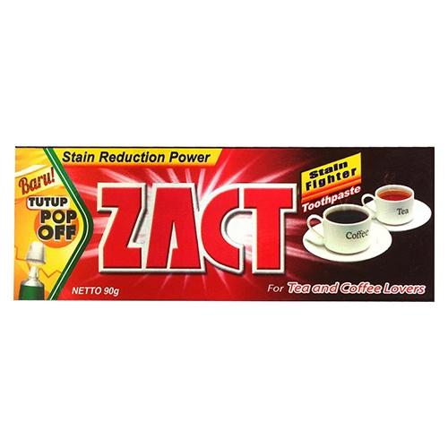 Зубная паста Zact Tea and Coffee Lovers 90 г оптом