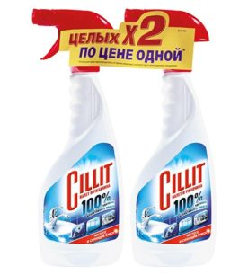 Чистящее средство с распылителем Cillit Налета и ржавчины 1+1 450 мл оптом