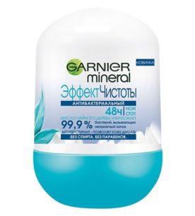 Дезодорант роликовый Garnier Эффект чистоты
