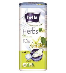 Ежедневные прокладки Bella Herbs Panty Липовый цвет 10 шт оптом