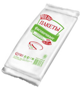 Фасовочные пакеты Prolang Для хранения продуктов