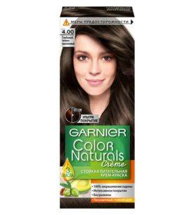 Краска для волос Color Naturals №4.00 Глубокий темно-каштановый 110 мл оптом